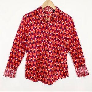 Robert Graham Collar Shirt Print 12